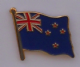 New Zealand Country Flag Enamel Pin Badge